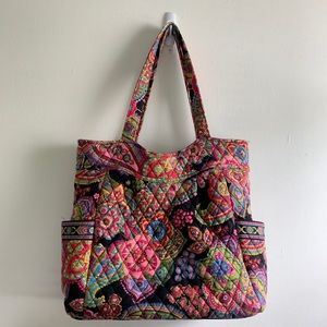 Vera Bradley | Quilted Floral Tote Bag